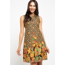 Brahmani Batik Olisa Sleeveless Batik Dress